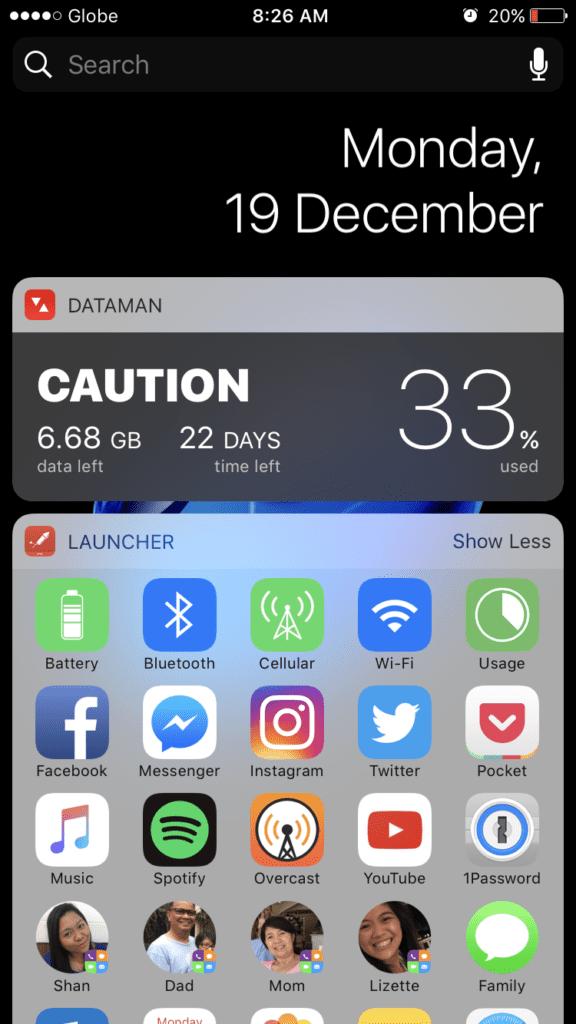 iphone 7 review ios 10 widgets