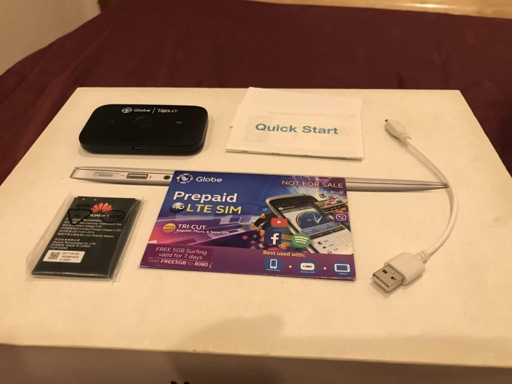 globe lte mobile wifi contents
