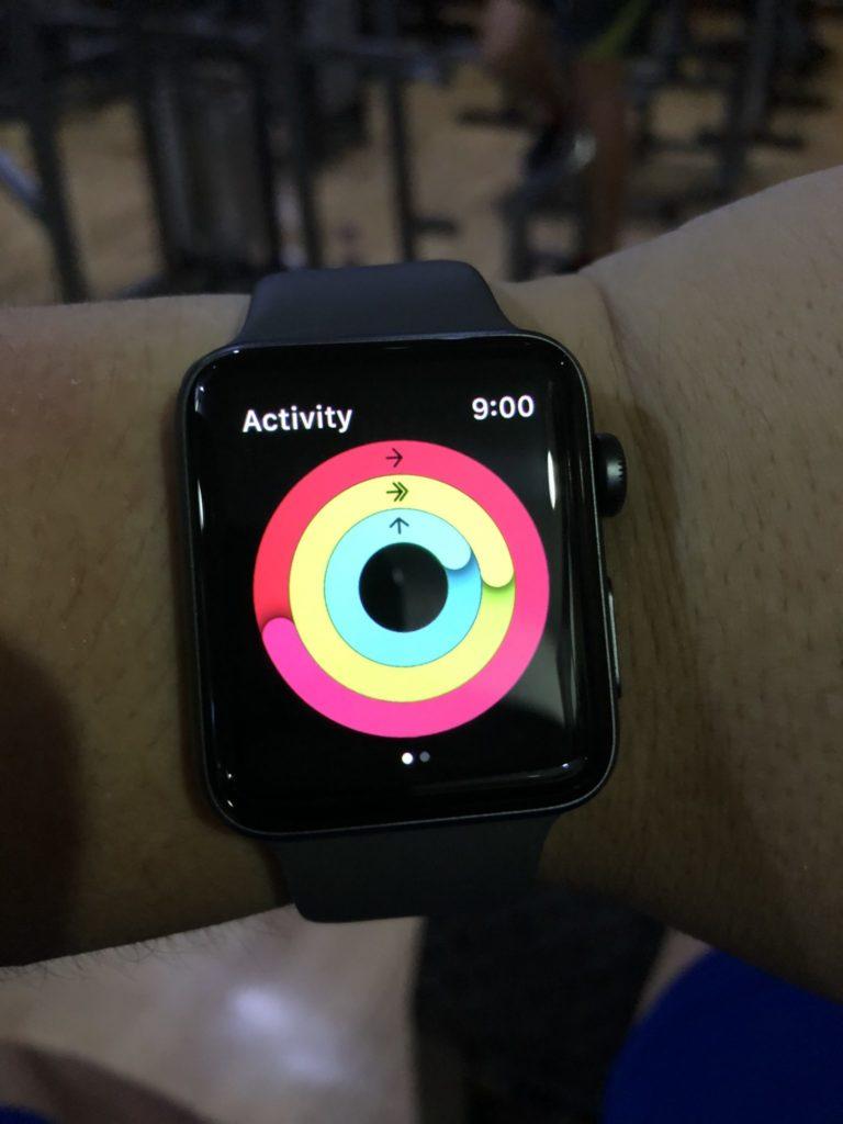 Apple Watch Series 3 - Activity Rings