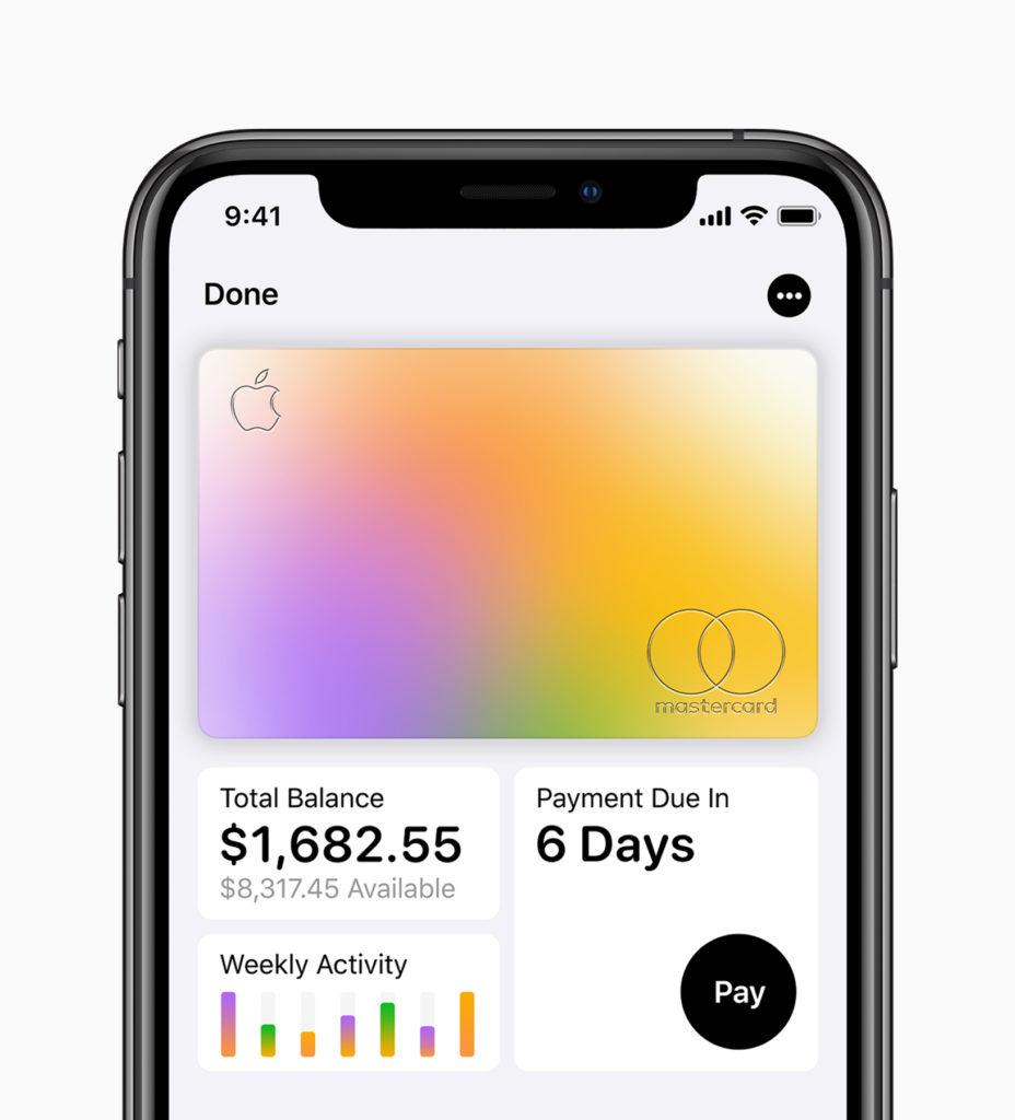 Apple services event - Apple Card