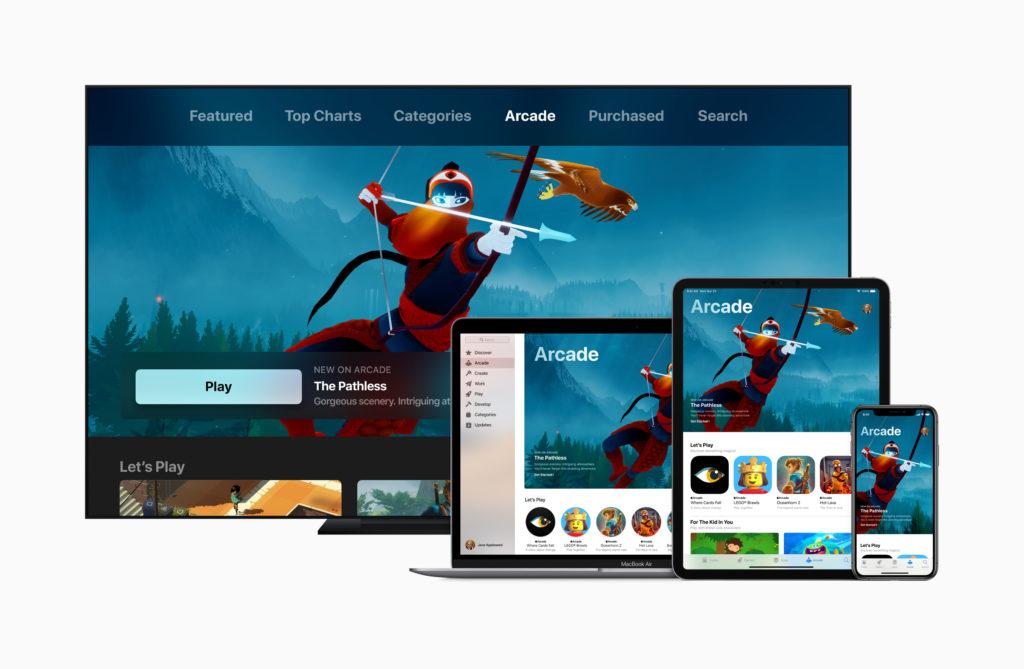 Apple services event - Apple Arcade