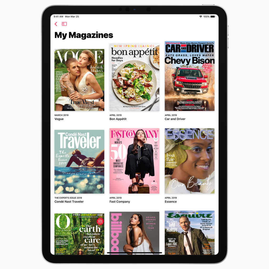 Apple services event - Apple News+