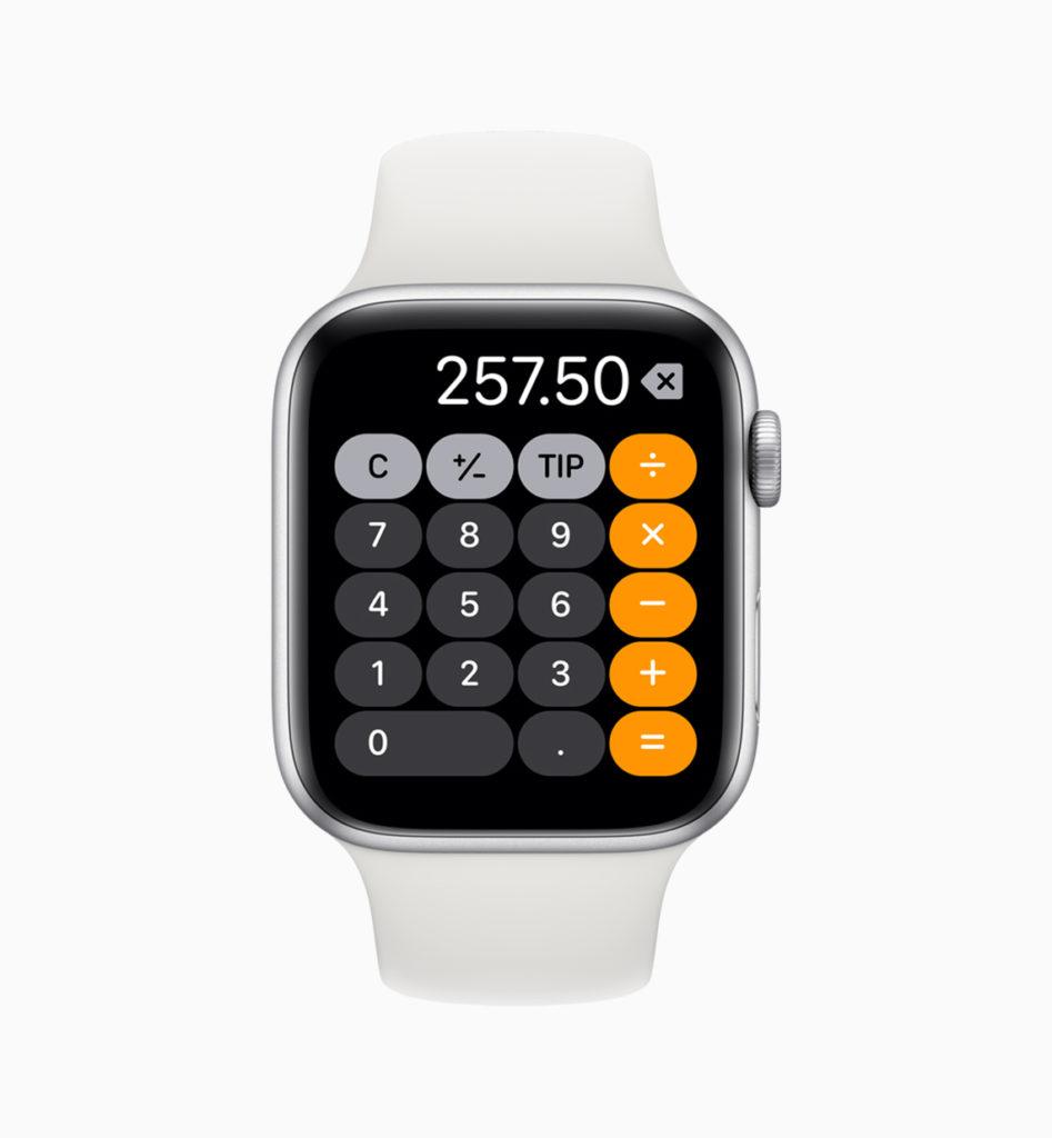 WWDC 2019 - watchOS 6 - Calculator