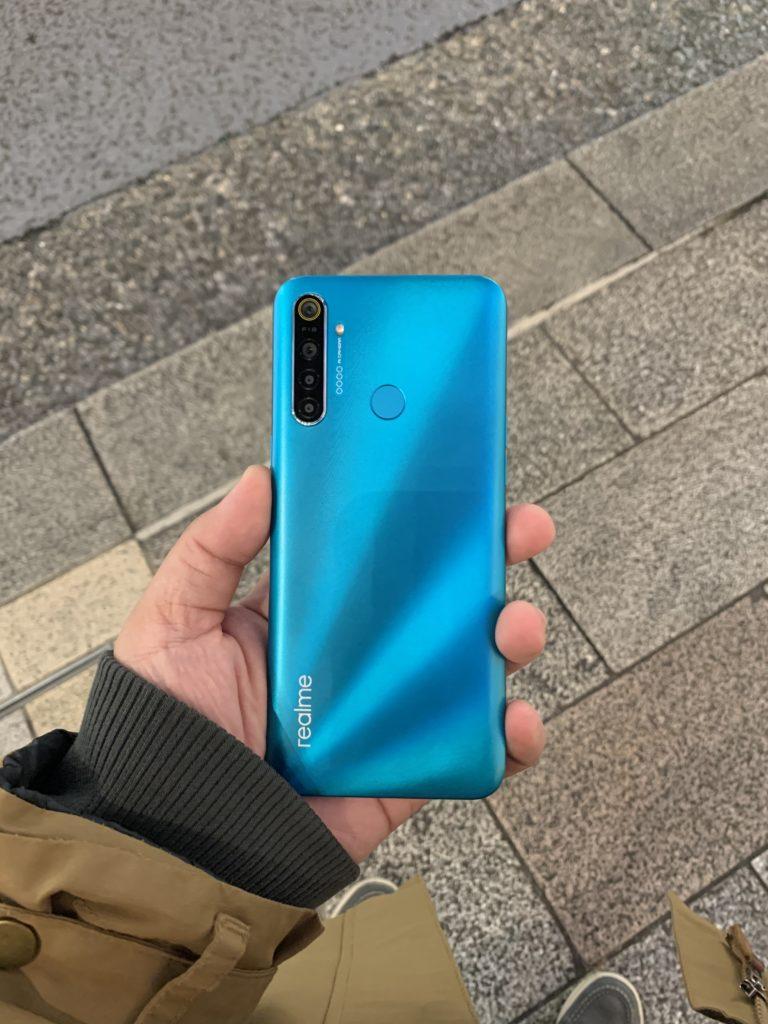 realme 5i Review - Aqua Blue