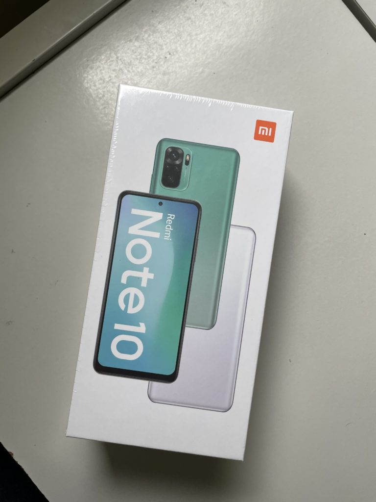 Redmi Note 10 Unboxing - The Box