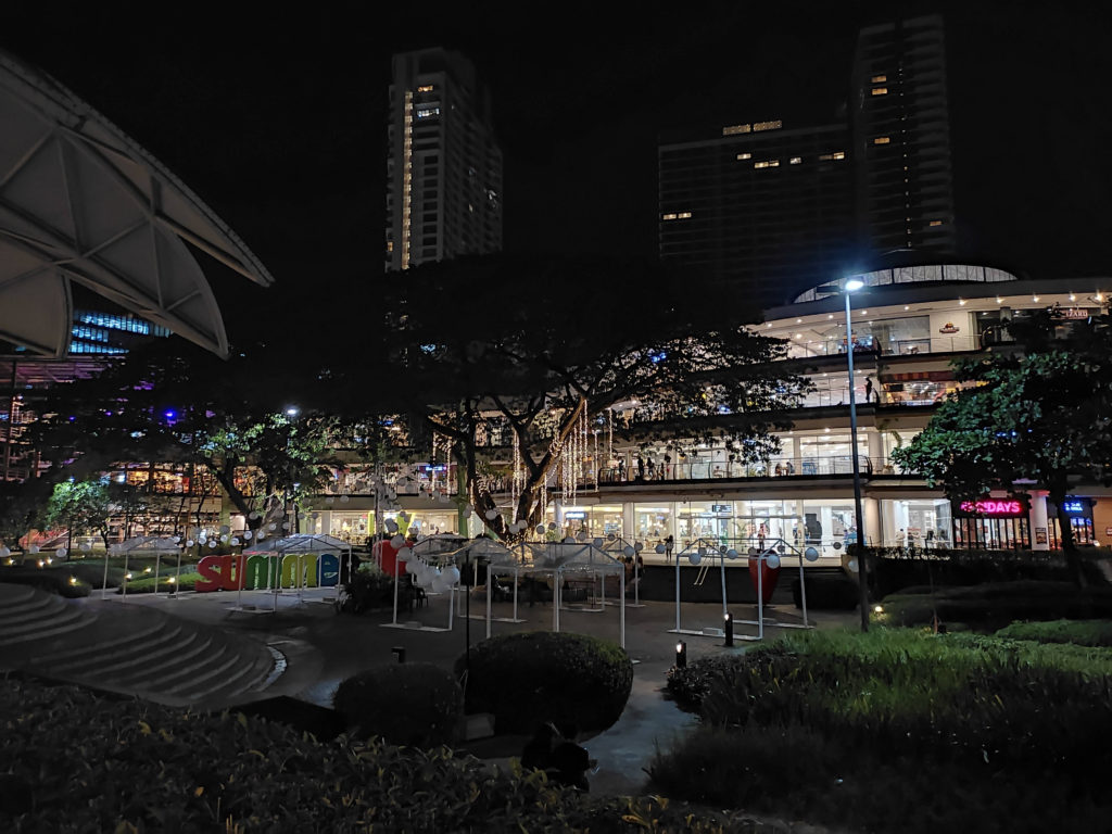 Redmi Note 10 review - night mode photo